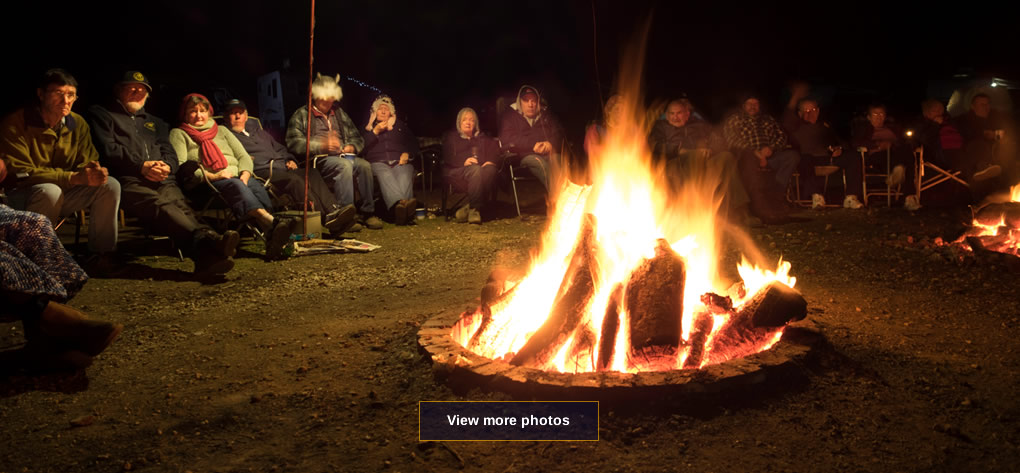 Vic Seekers Club campfire